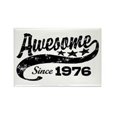 Awesome Since 1976 Rectangle Magnet