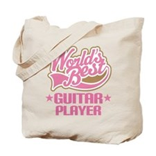 Worlds Best Guitar Player Tote Bag