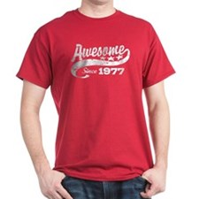 Awesome Since 1977 T-Shirt