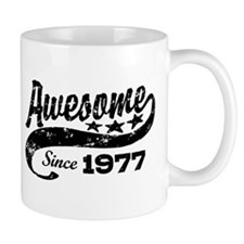 Awesome Since 1977 Small Mug