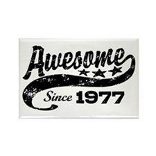 Awesome Since 1977 Rectangle Magnet