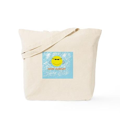 DOIN' ALRIGHT Horizontal Tote Bag