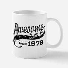 Awesome Since 1978 Mug