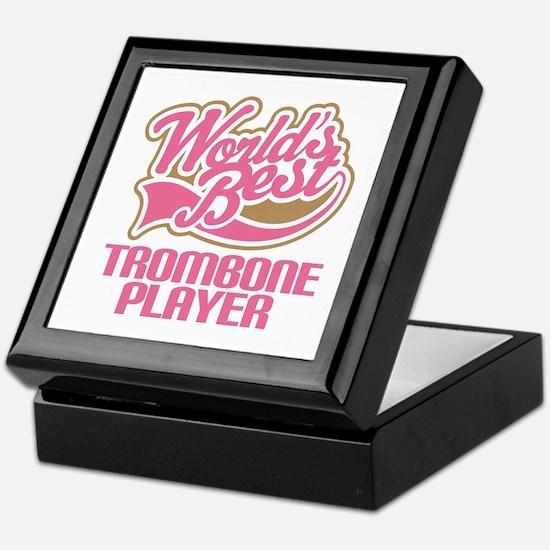Worlds Best Trombone Player Keepsake Box