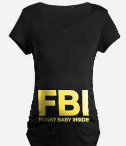 FBI Maternity T-Shirt