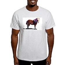 Miniature Horse Ash Grey T-Shirt