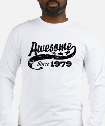 Awesome Since 1979 Long Sleeve T-Shirt