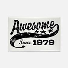 Awesome Since 1979 Rectangle Magnet