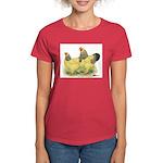 Buff Brahma Pair Women's Dark T-Shirt