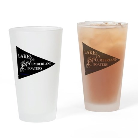 Lake Cumberland Boaters Pennant Drinking Glass