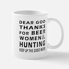 Beer Women And Hunting Mug