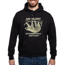 Sloth Am I Slow? Hoodie