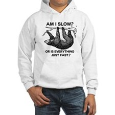 Sloth Am I Slow? Hoodie Sweatshirt