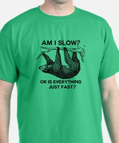 Sloth Am I Slow? T-Shirt
