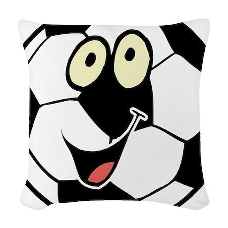 3-ball.jpg Woven Throw Pillow