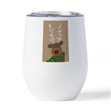 Red heart with Biology Tea Tumbler