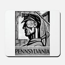 Pennsylvania Coal WPA 1938 Mousepad