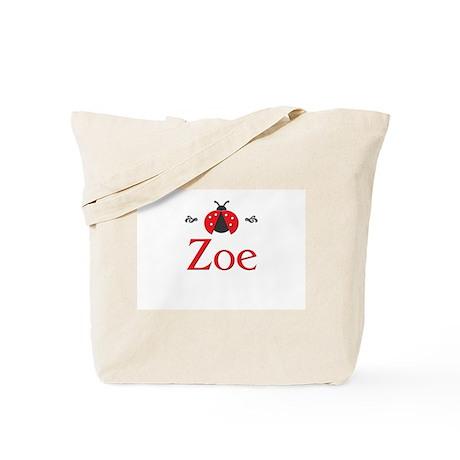 Red LadyBug - Zoe Tote Bag