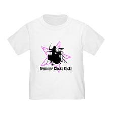 Drummer Chicks Rock T