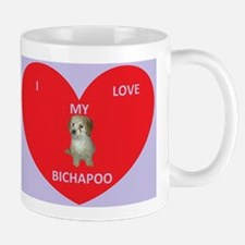 I LOVE MY BICHAPOO Mug