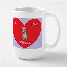 I LOVE MY BICHAPOO Mug