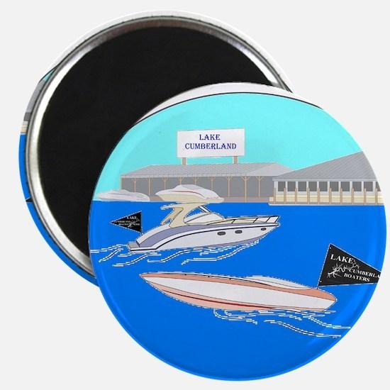 Color Boats Magnet