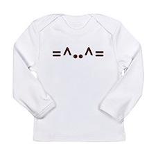 ascii cat Long Sleeve T-Shirt