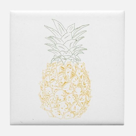 Pineapple Tile Coaster