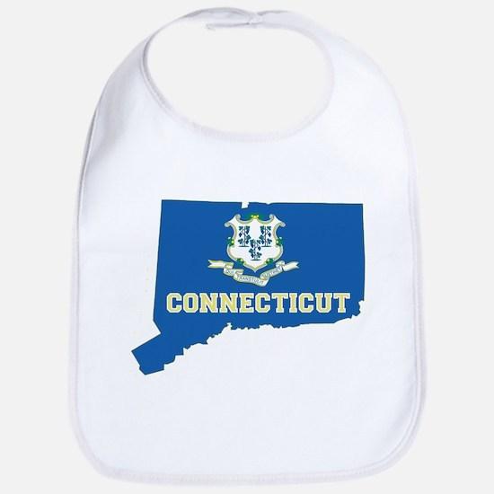 Connecticut Flag Bib