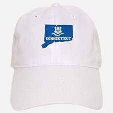 Connecticut Flag Baseball Baseball Cap
