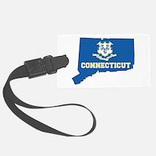 Connecticut Flag Luggage Tag