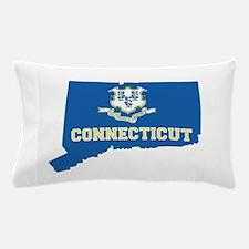 Connecticut Flag Pillow Case