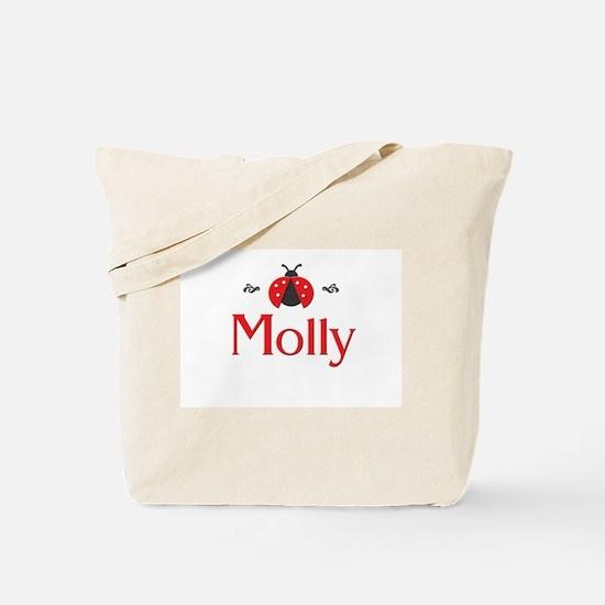 Red LadyBug - Molly Tote Bag