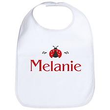 Red LadyBug - Melanie Bib