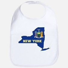 New York Flag Bib