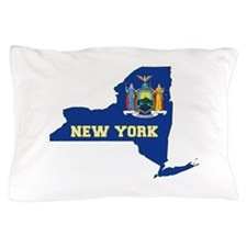 New York Flag Pillow Case