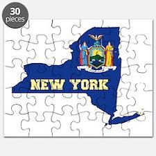 New York Flag Puzzle