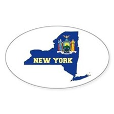 New York Flag Decal