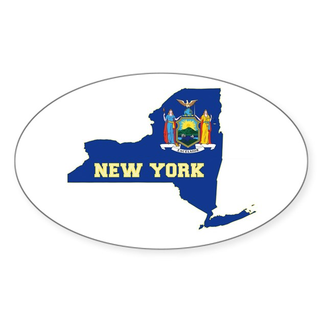New york flag decal by statesofamerica - Stickers geant new york ...