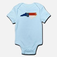 North Carolina Flag Infant Bodysuit