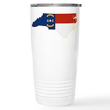 North Carolina Flag Travel Mug