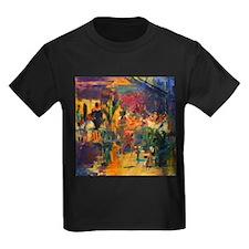 Vence @oil on canvasA - Kid's Dark T-Shirt