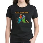 Four Calling Birds Women's Dark T-Shirt