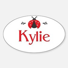 Red LadyBug - Kylie Oval Decal