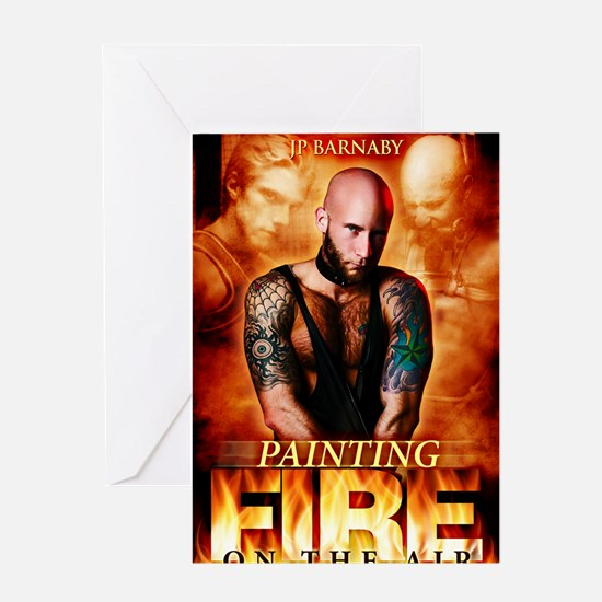 Painting Fire on the Air Greeting Card