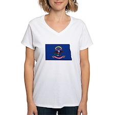 North Dakota Flag Shirt
