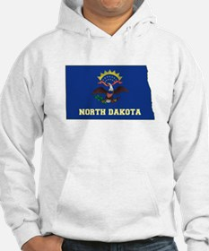 North Dakota Flag Hoodie