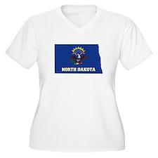 North Dakota Flag T-Shirt