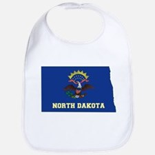 North Dakota Flag Bib