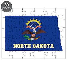 North Dakota Flag Puzzle